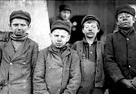 Breaker Boys working at Hughestown Borough Pa. Coal Co.